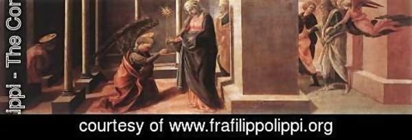 Fra Filippo Lippi - Announcement of the Death of the Virgin