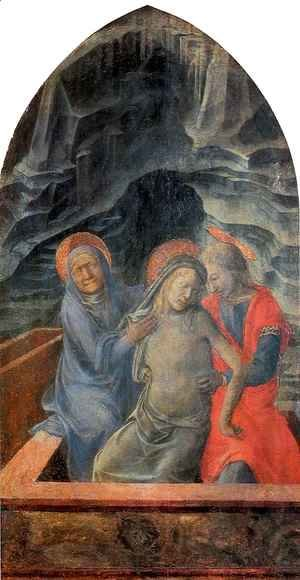 Dead Christ Supported by Mary and St John the Evangelist