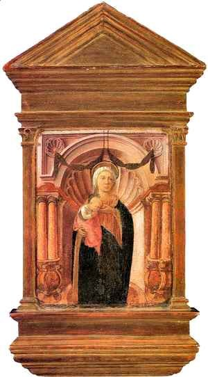 Fra Filippo Lippi - Madonna and Child 2