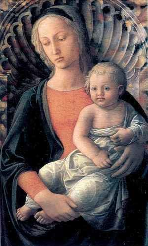 Fra Filippo Lippi - Madonna and Child 4
