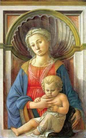 Fra Filippo Lippi - Madonna and Child 5