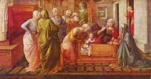 Fra Filippo Lippi - Miracle of the Bees of the Infant St Ambrose