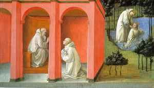 Fra Filippo Lippi - Saint Benedict Orders Saint Maurus to the Rescue of Saint Placidius
