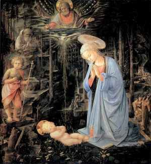 Fra Filippo Lippi - Adoration of the Child