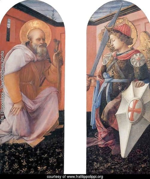 St Anthony Abbot and St Michael