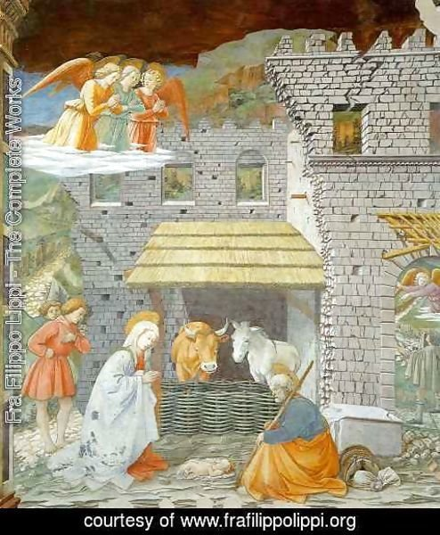 Fra Filippo Lippi - Adoration of the Shepherds