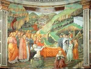 Fra Filippo Lippi - Stories from the Life of the Virgin Death of the Virgin