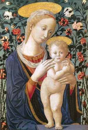 Fra Filippo Lippi - Madonna and Child 7