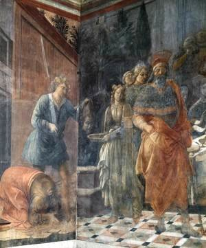 Fra Filippo Lippi - The Beheading of John the Baptis