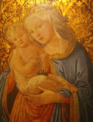 Fra Filippo Lippi - Madonna and Child 9