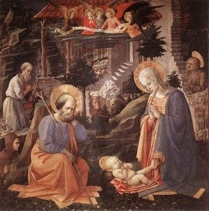 Adoration of the Child c. 1455