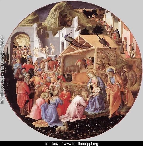 Adoration of the Magi c. 1445