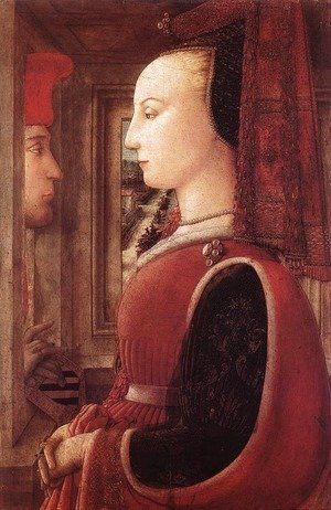 Fra Filippo Lippi - Portrait of a Man and a Woman