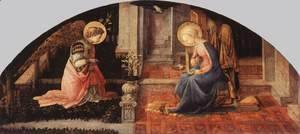 Fra Filippo Lippi - The Annunciation 1448-50
