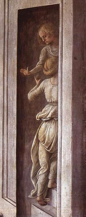 The Annunciation with two Kneeling Donors (detail-2) c. 1440