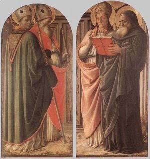 Fra Filippo Lippi - The Doctors of the Church c. 1437