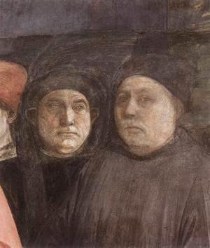 The Saint's Funeral (detail-1) 1460