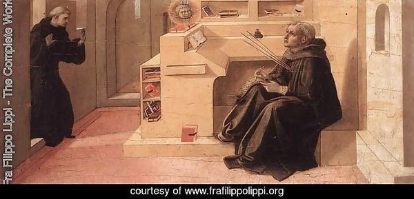 Vision of St Augustine c. 1438